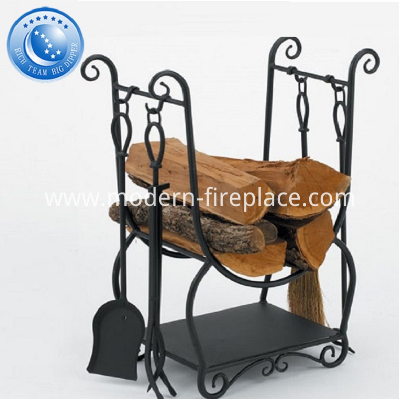 Wood Burning Fireplace Kits And Fender With Tool Sets