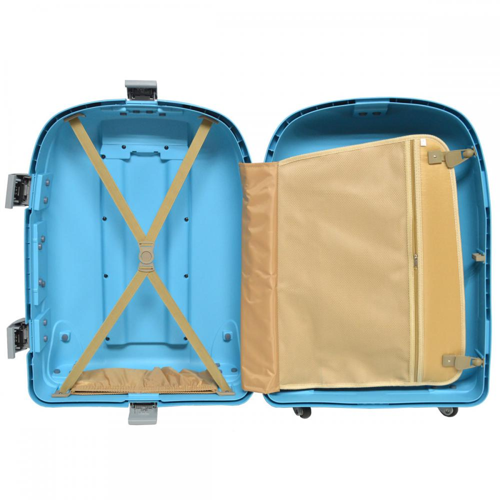 Scratch Proof PP Trolley Luggage