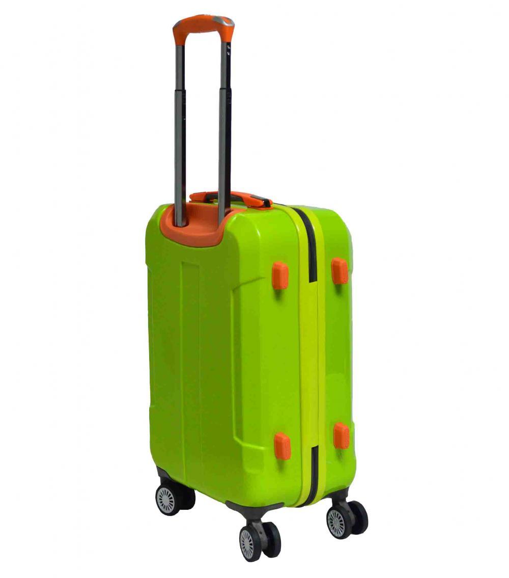 Vibrant Color PC Luggage Set
