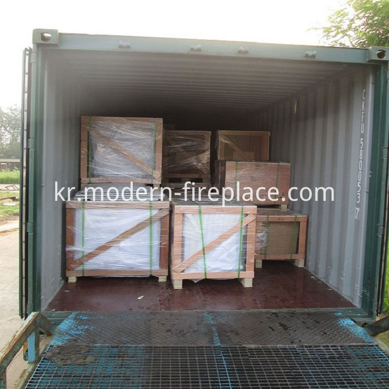For Sale Wood Fireplace Packaging
