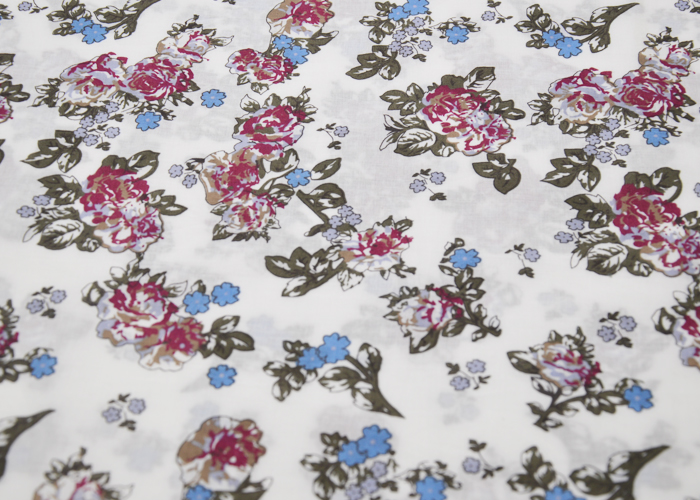 Ployester/Cotton Printed Fabric