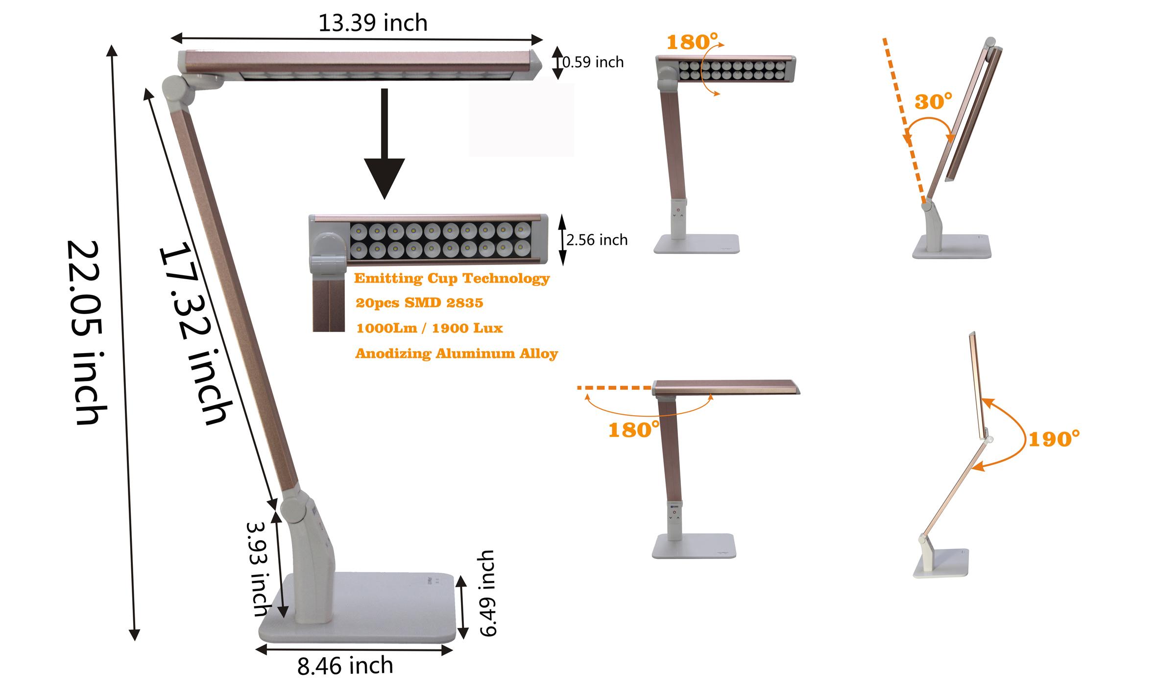 Optical Design Table Light
