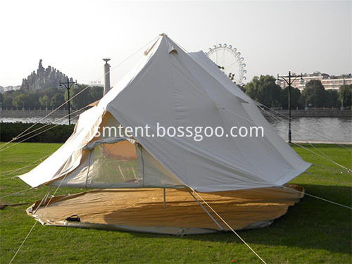 Multi-Useful Bell Tent when hot
