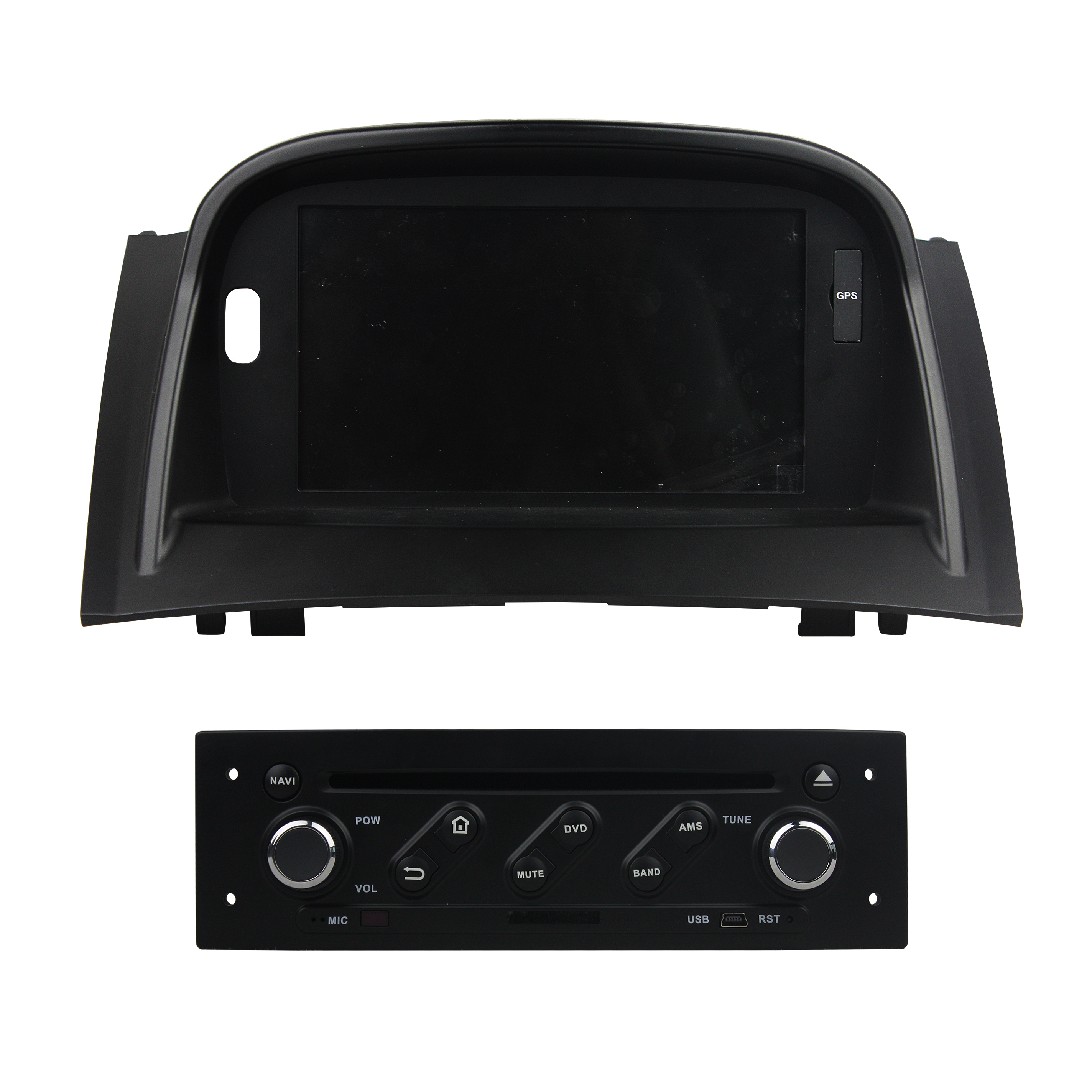 Blue ray car dvd player for MeganeⅡ