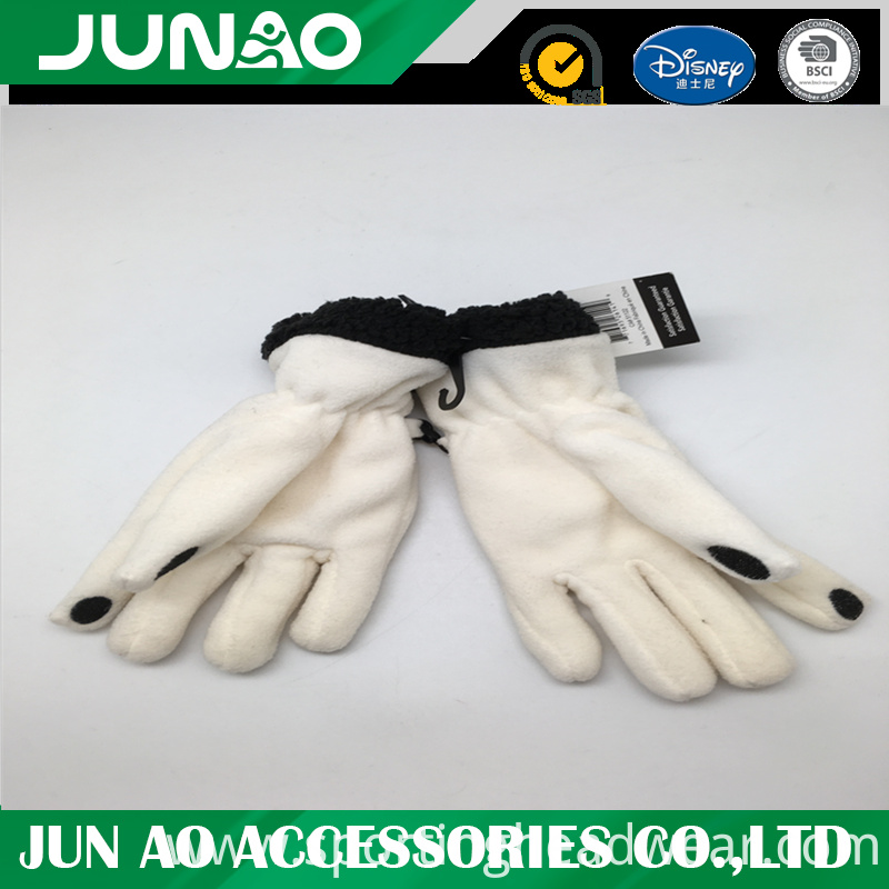 screen touch fleece glove