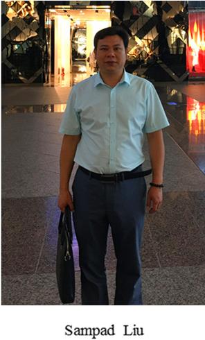 The founder of Jinyu Magnet- Sampad Liu