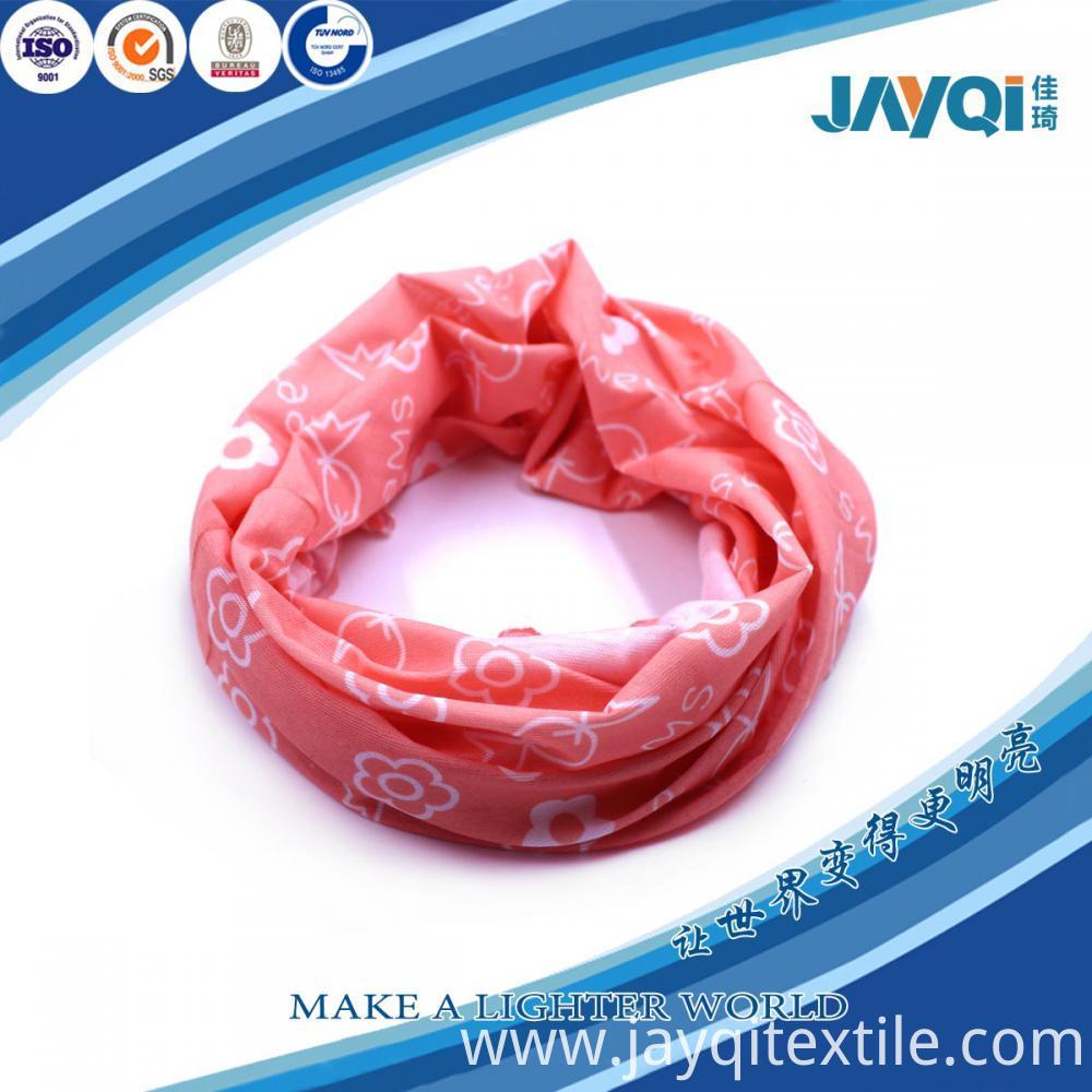 Heat Transfer Printed Multi-purpose Scarf Headwear Bandana