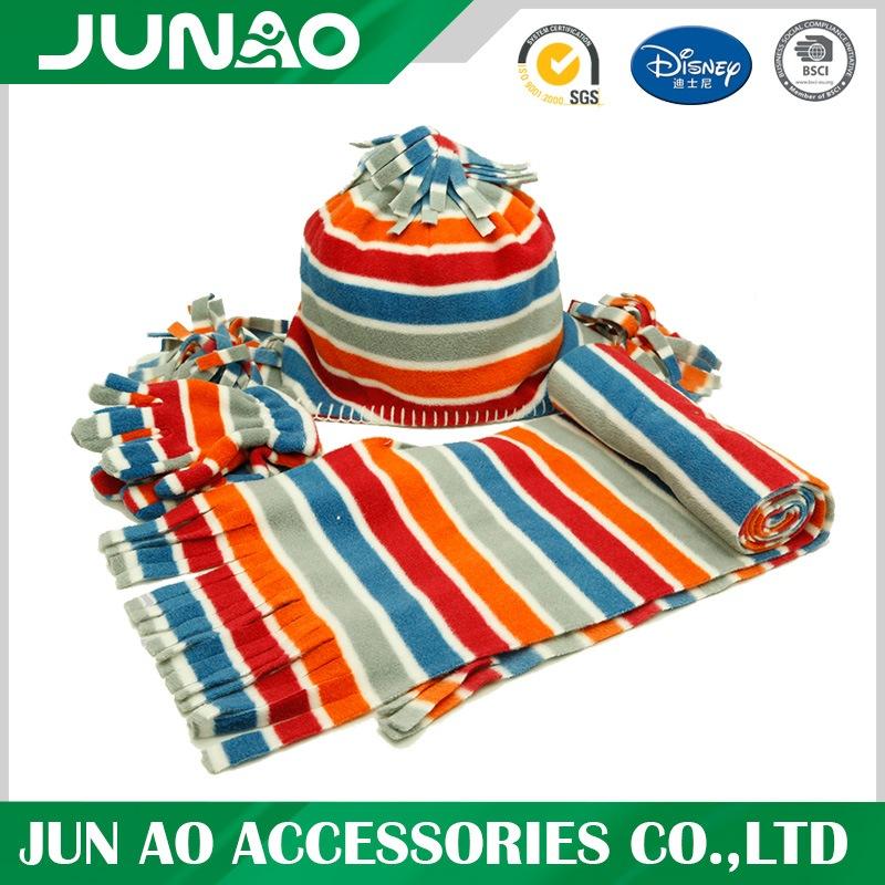 stylish matching hat glove scarf set