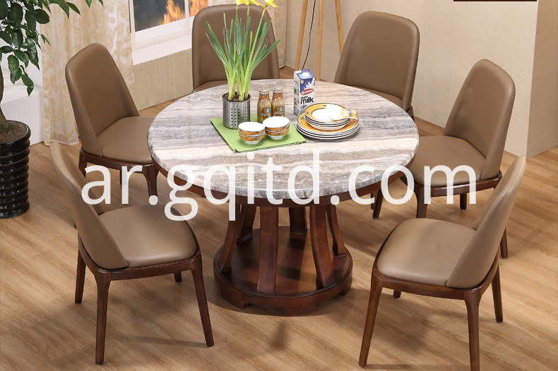 Round Dining Table Marble