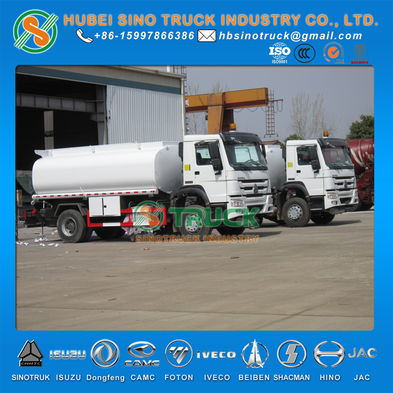 HOWO 10000L Water Bowser