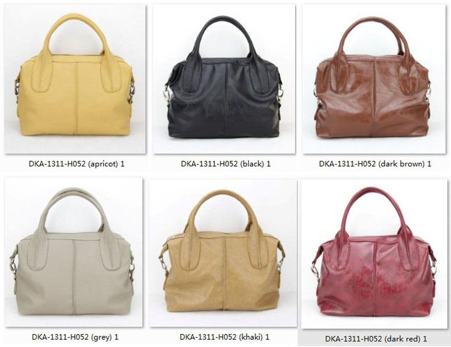 PU Leather Shoulder Handbags