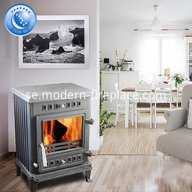 100KG Custom Cast Iron Wood Burning Stoves