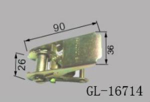 Steel Ratchet Buckle for Truck Body Semi -trailers