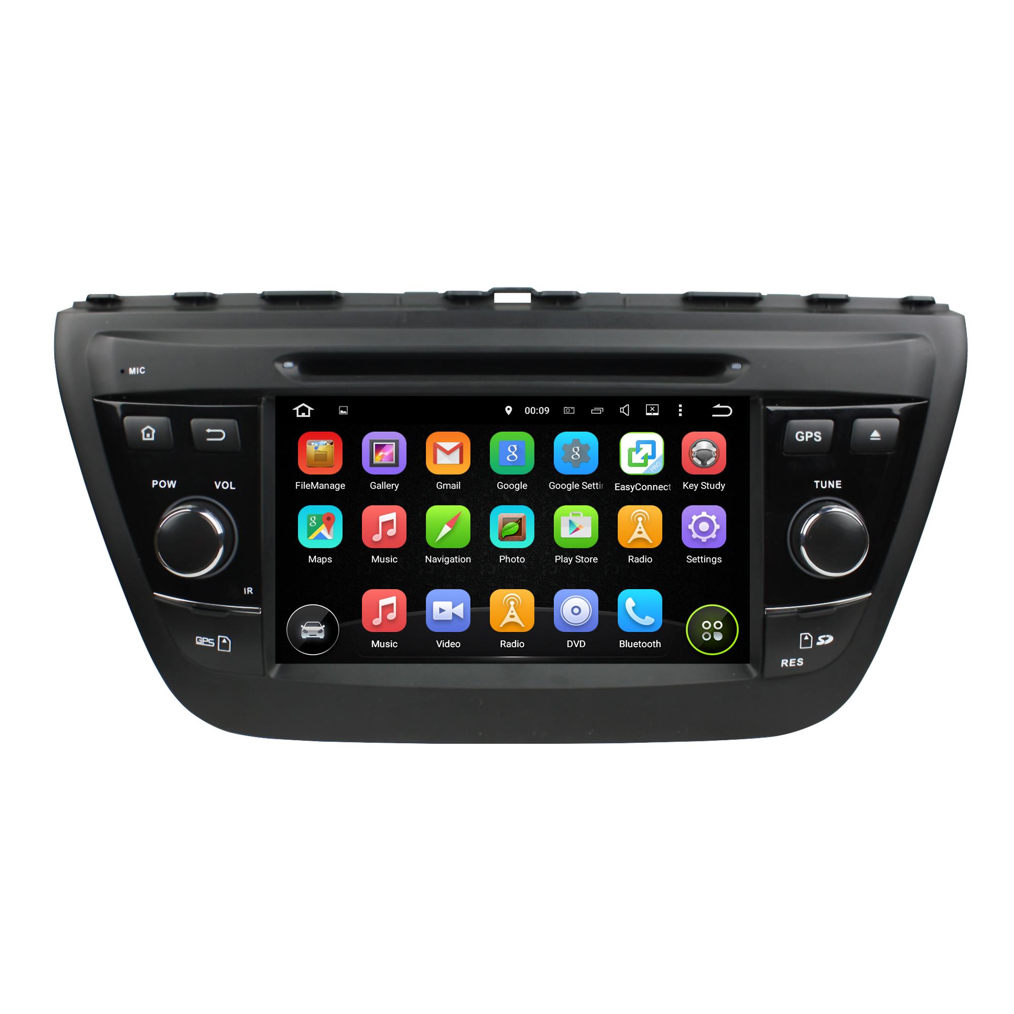 Android 5.1 car DVD for Suzuki SX4 2014