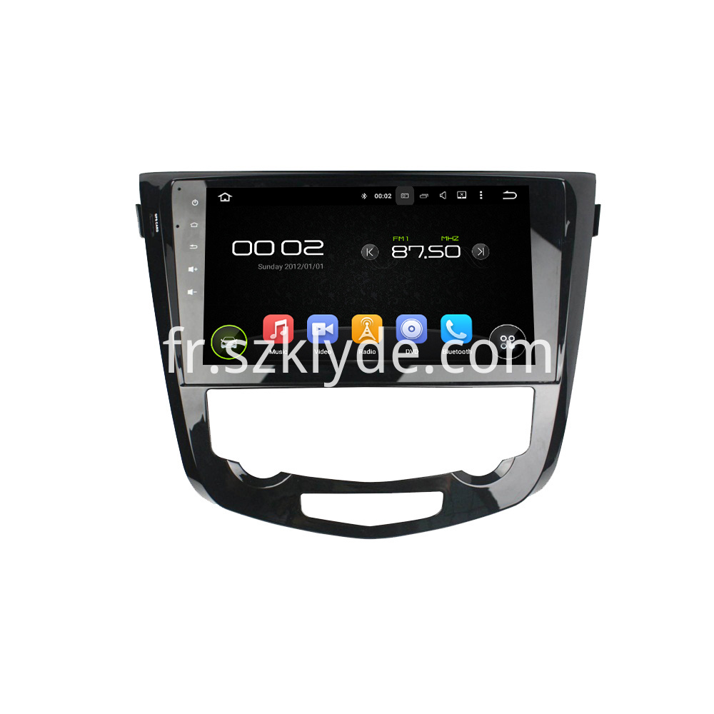 Android Car Electronics for Nissan Qashqai 2017