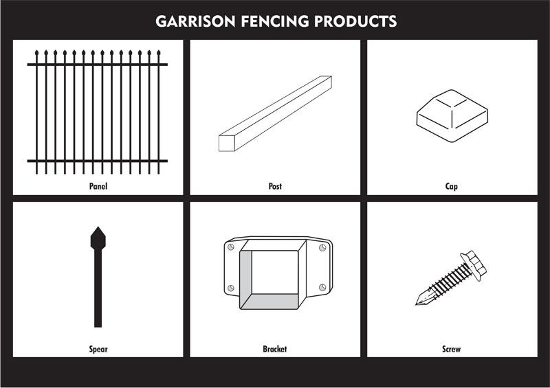 garrison fence,heavy duty security fencing-3