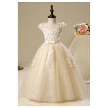 A-Line/Princess Tulle Floor Length Flower Girl Dresses Size 7