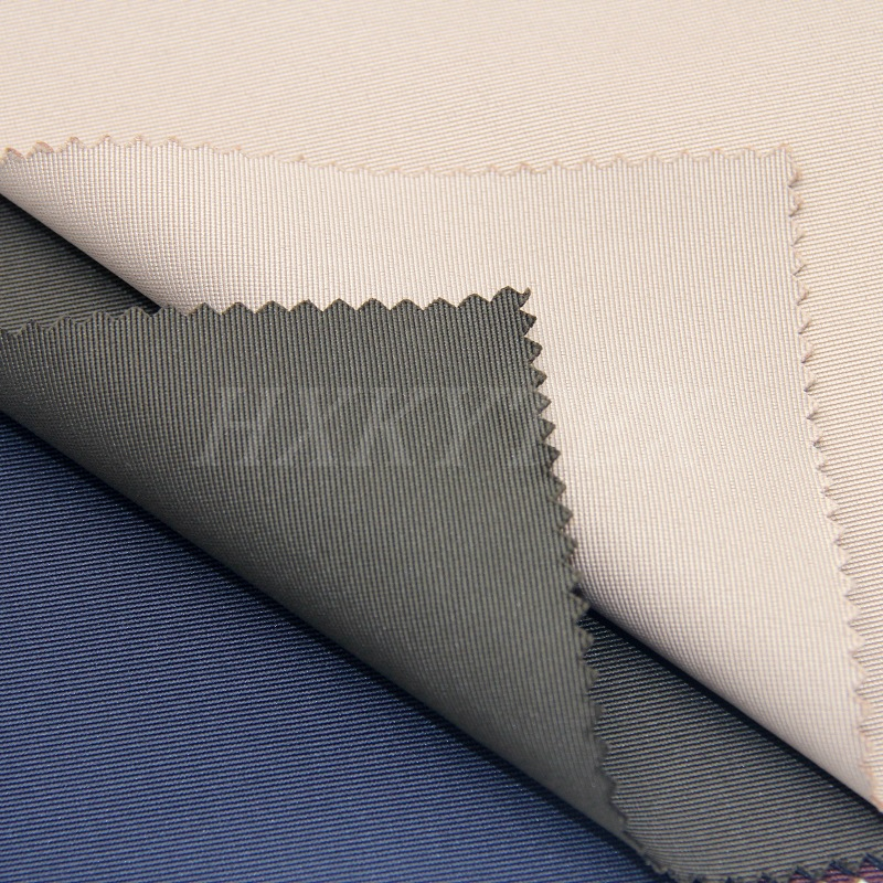 T400 Fiber Stripe with Stretch Polyester Fabric for Jacket
