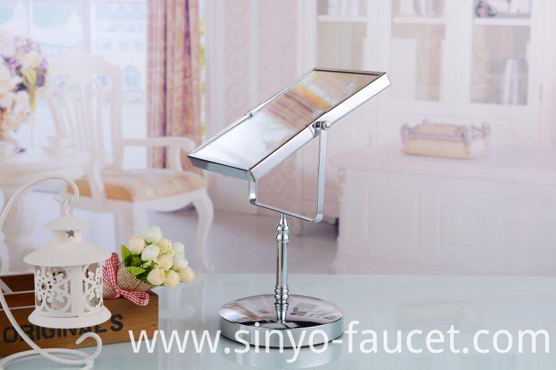 Standing Modern Rotating Metal Dressing Table Mirror