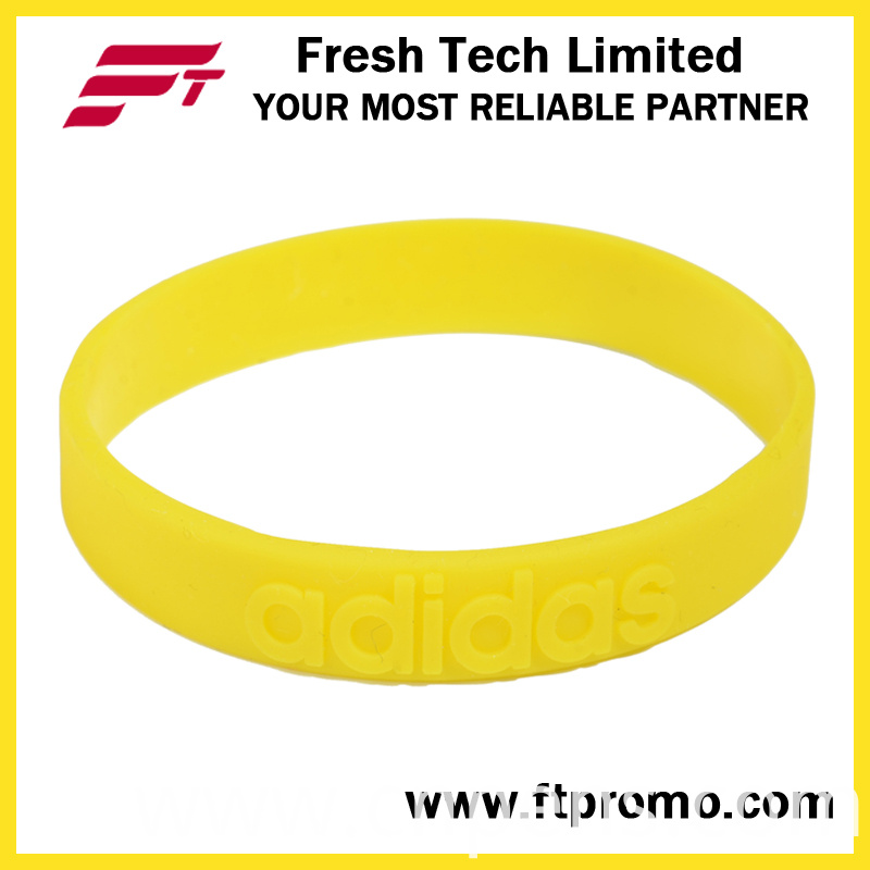 Wholesale Eco-Friendly Silicone Wristband with Logo