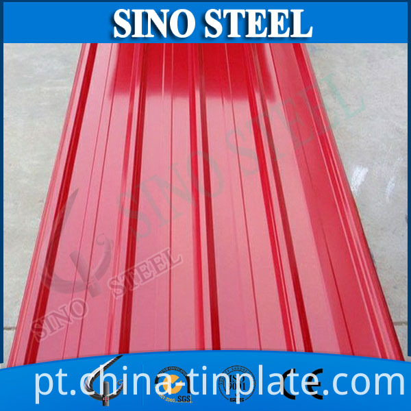 Pre-Painted Colored Galvanized Steel Sheet Corrugated Roofing