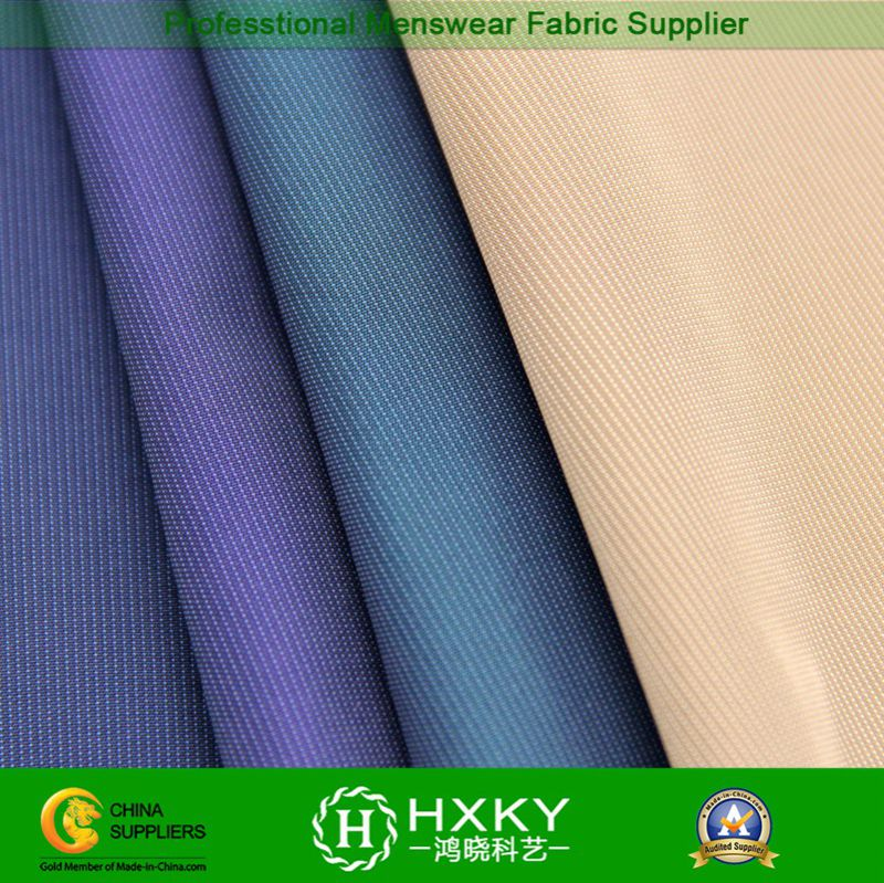 Polyester Stripe Yarn Dyed Fabric in Men's Casual Jacket or Shirt
