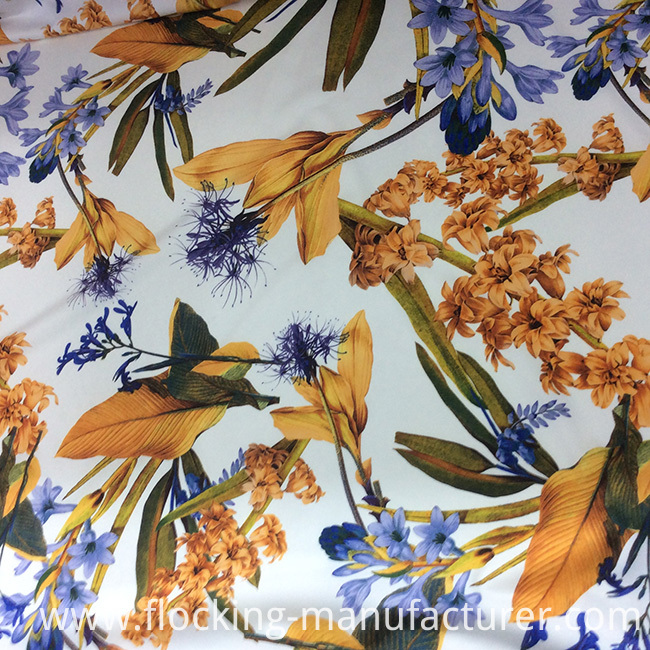 New Flower Design Digital Printed Knit/ Jersey Dress Fabric
