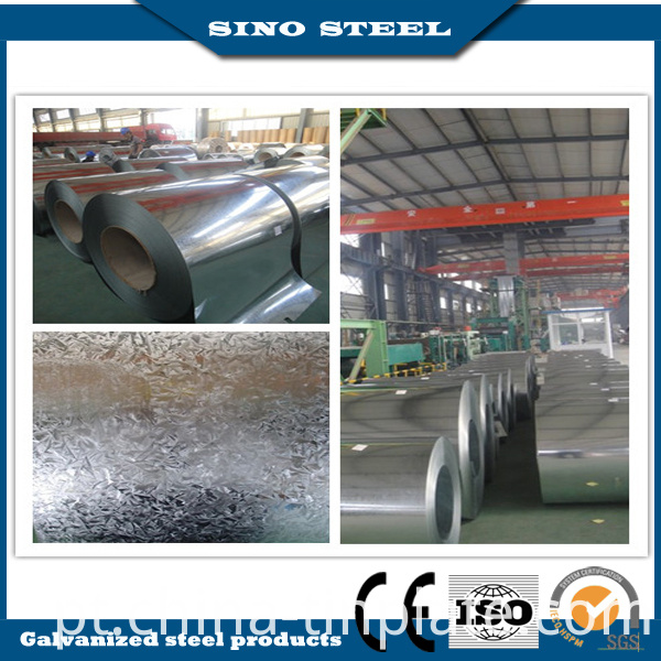 High Quality 60g-275g Anit-Finger Galvalume Steel Coil