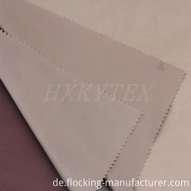 Polyester Fake Memory Fabric for Jacket