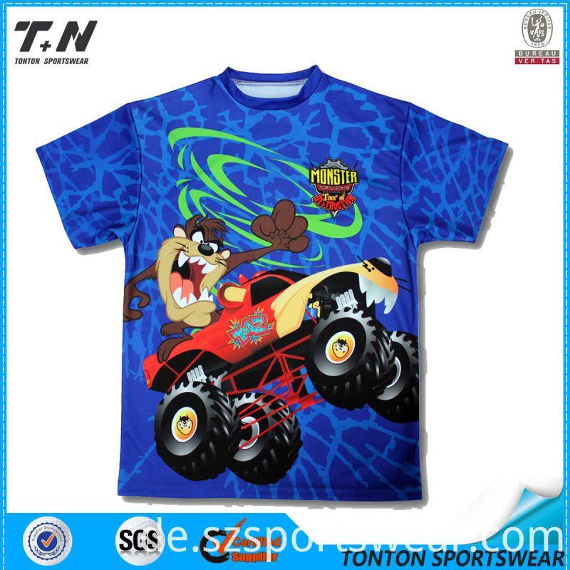 Shenzhen China ODM Sublimation T-Shirts Manufacturing