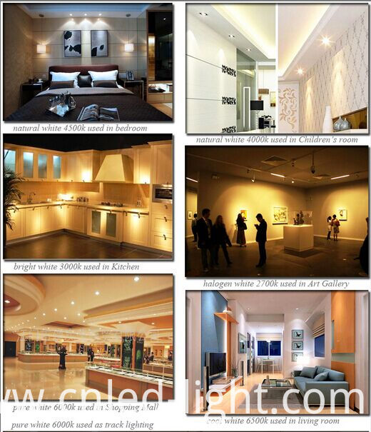 6 Inch 12W 1000lm Round LED Panel