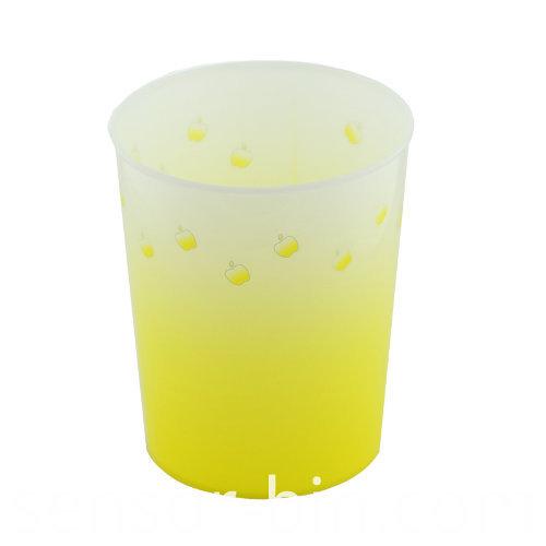 Colorful Printing PP Toilet Pail/Paper Basket (FF-5223-1)