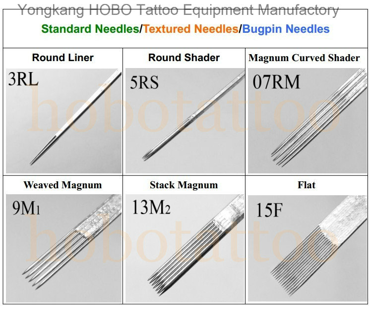 High Quality Products Disposable Stainless Steel Tattoo Needles Supplies