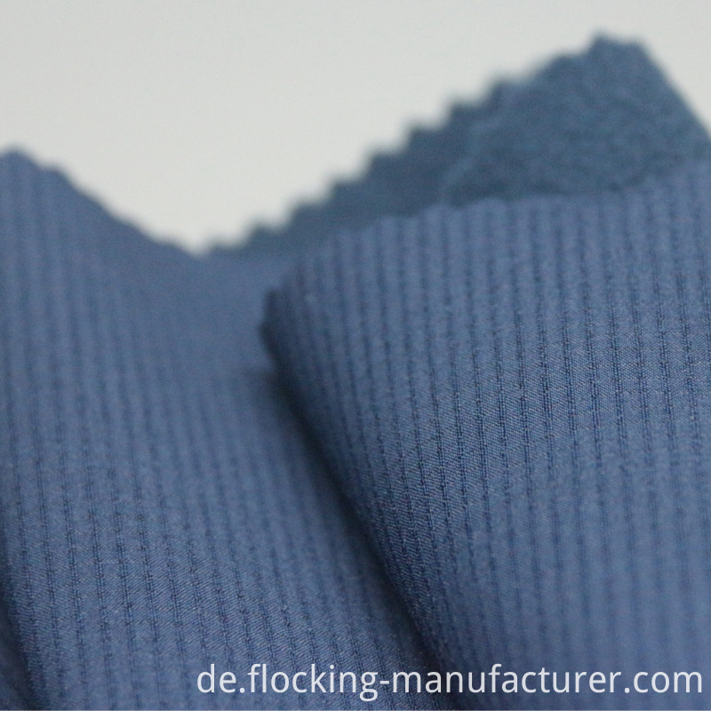 Nylon Ripstop Four Way Spandex Fabric with Polar Fleece