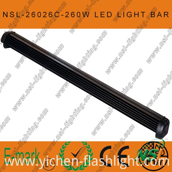 43 Inch LED Driving Light Bar, 4x4 260W LED Driving Light, 10W CREE Light Bar, CREE Single Light Bar