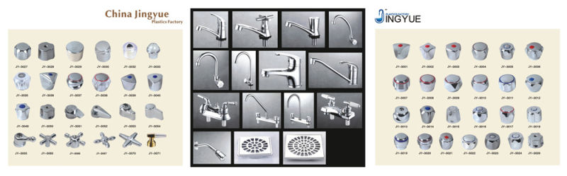 ABS Kitchen Faucet with Two Handles (JY-1015)