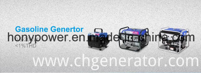 100% Copper Wire Prices with Wheel 4kw Gasoline Generator