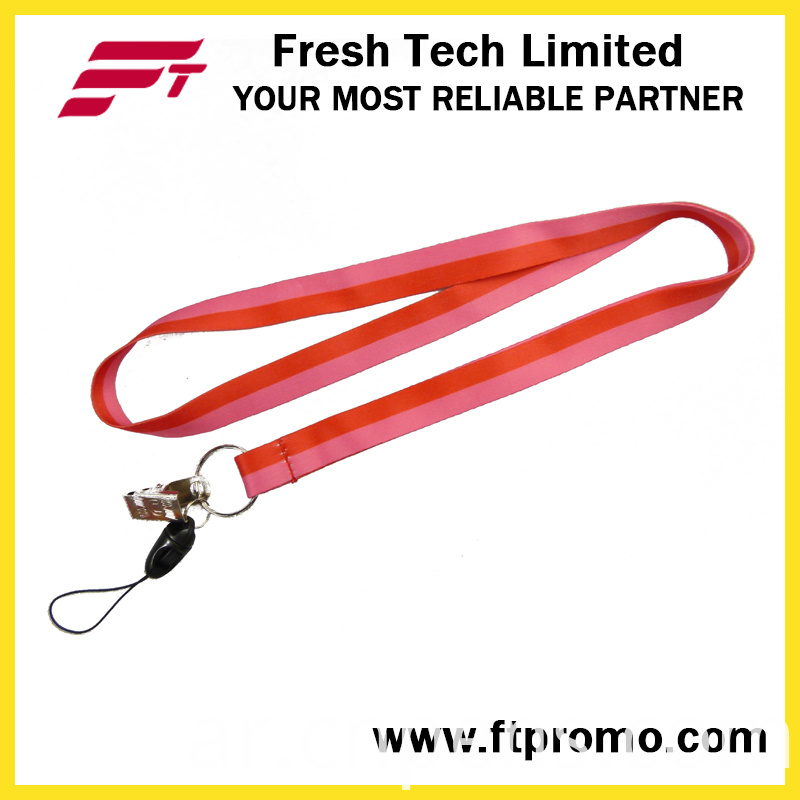 OEM Promotional Gift Polyester Lanyard with Logo