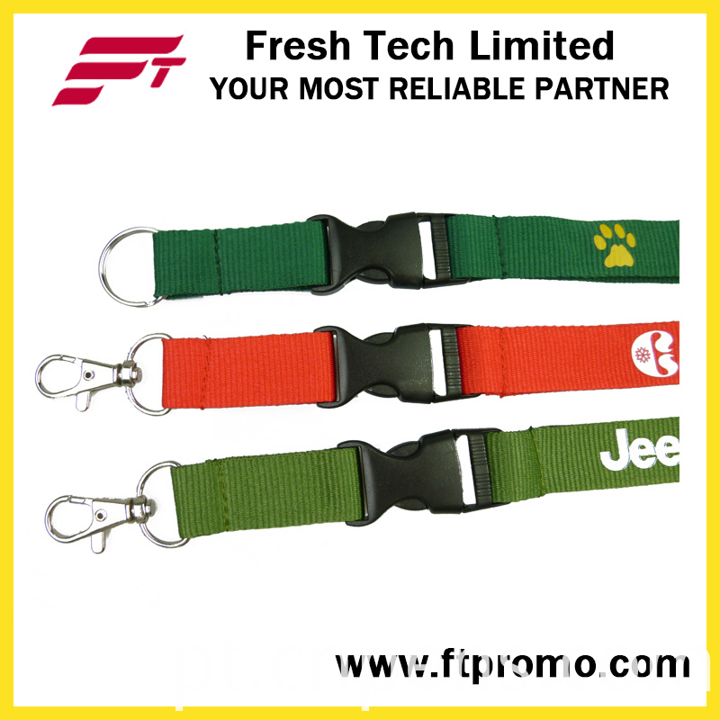 Promotional Products Polyester Lanyard with Printed Logo