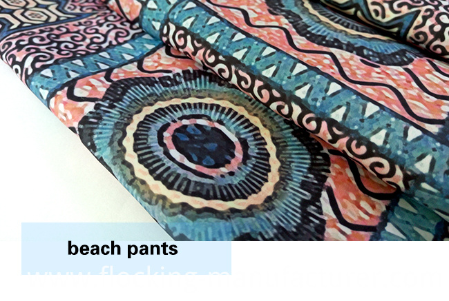 Polyester New Design Printed Fabric for Beach Shorts/ Casual Wear