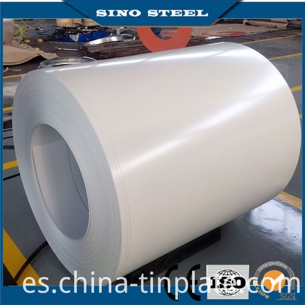 SGCC Z80 Ral9016 Color Coated Galvanized Steel Coil for Roofing Material