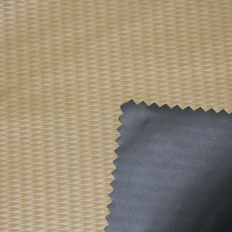 Poly Embossed Fabric for Men's Garment