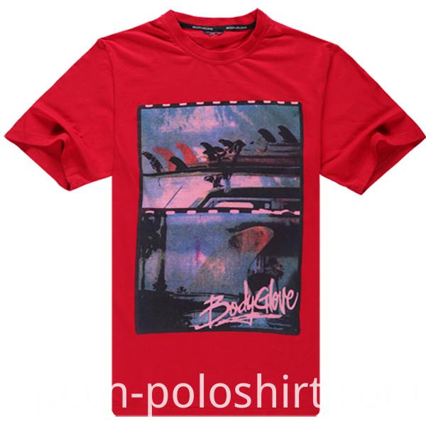 60 Cotton 40 Polyester Women Cheap T Shirt Printing