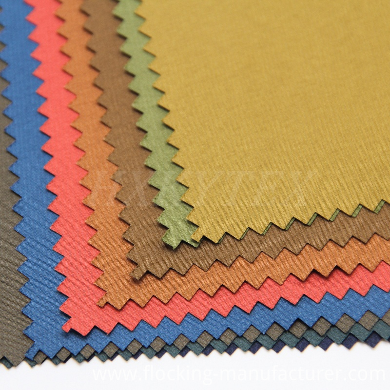 Faille Stripe Polyester Fabric for Fashion Coat