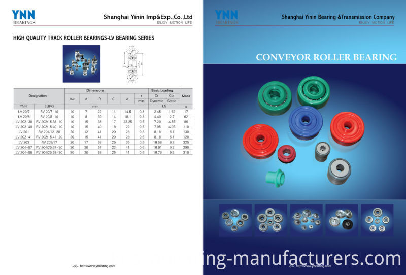 Deep Groove Ball Bearing Plastic Coated Bearing with The Best Price