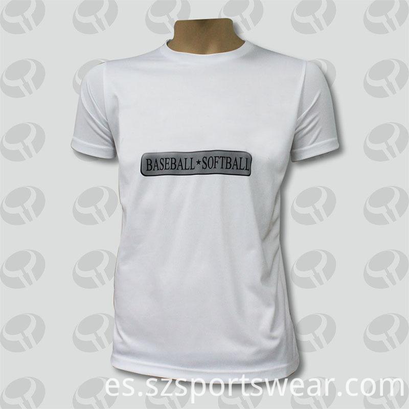 100% Cotton White Printed Fashion T Shirts Wholesale