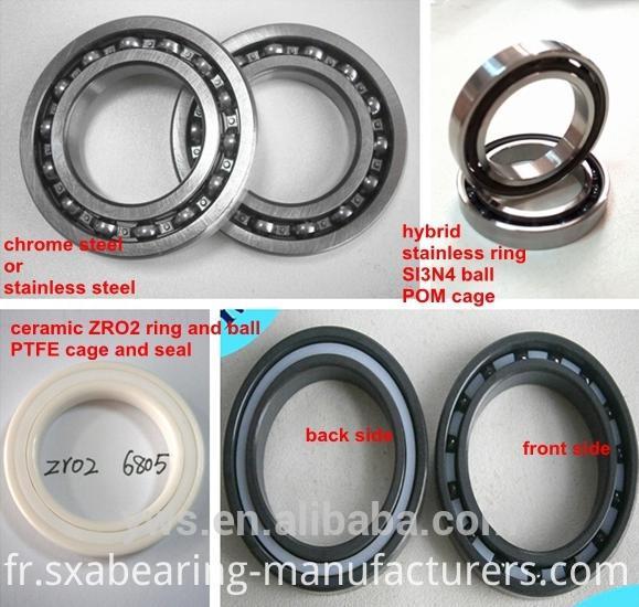 6805 Bicycle Ceramic Hybrid Bearing