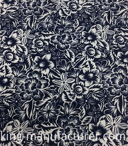 55%Linen 45%Viscose Printed Fabric for Garment and Home Textiles