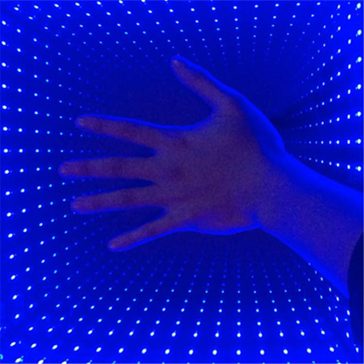 New RGB 3on1 LED Infinite 3D Mirror Wedding Dance Floor