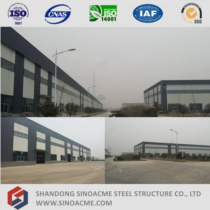 High Quality Prefab Light Steel Structure / Light Steel Frame